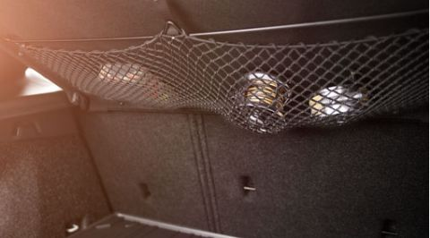 V40 Parcel Shelf Net Pocket